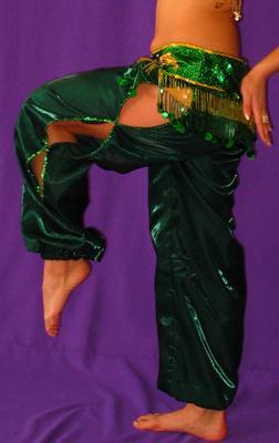 Сшить шаровары для восточных танцев 11
